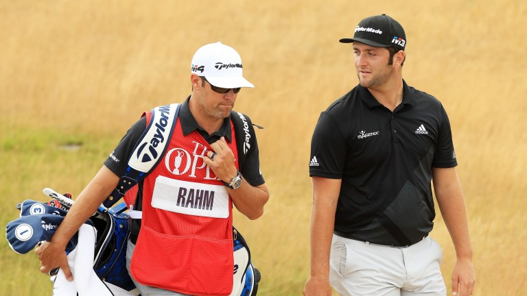 Jon Rahm is only three shots off the lead