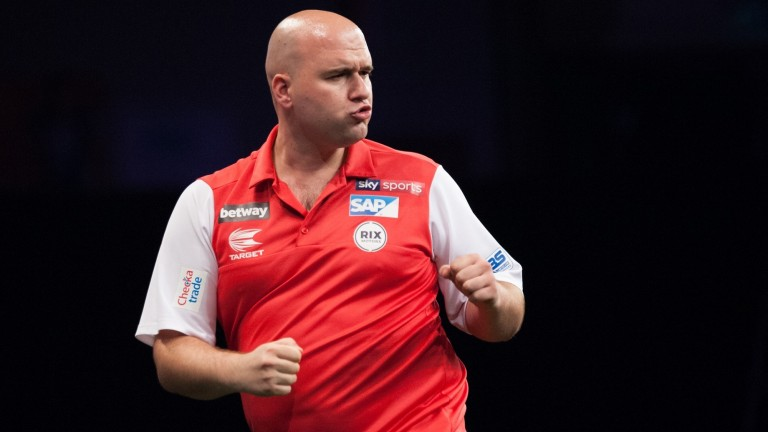 World champion Rob Cross is going through a testing time
