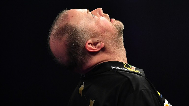 It's difficult to gauge what sort of nick Raymond van Barneveld will be in