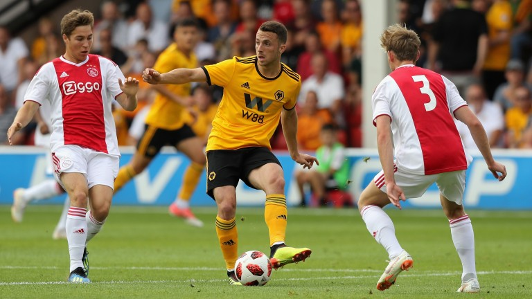 Ajax drew 1-1 with Wolves in a recent friendly