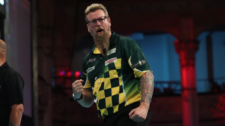 Simon Whitlock raced to a 10-2 win over Richard North in his Blackpool opener