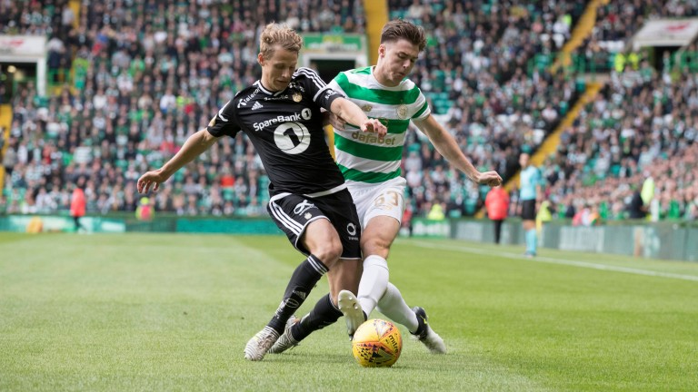 Celtic and Rosenborg locked horns in the last round