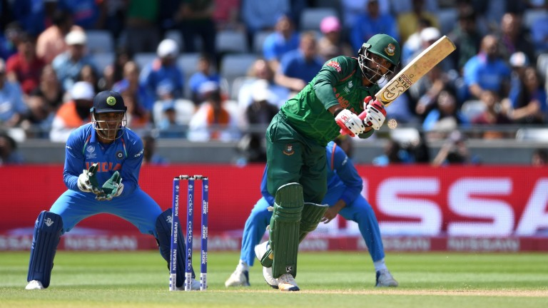 Tamin Iqbal struck a century in the first ODI