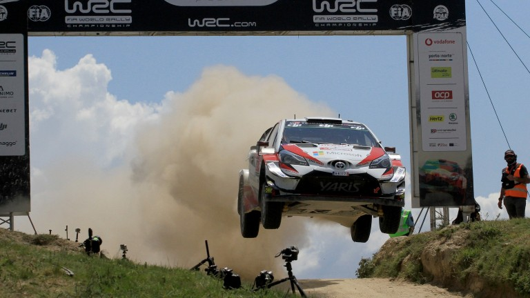 Esapekka Lappi could repeat last season's win in the Rally of Finland