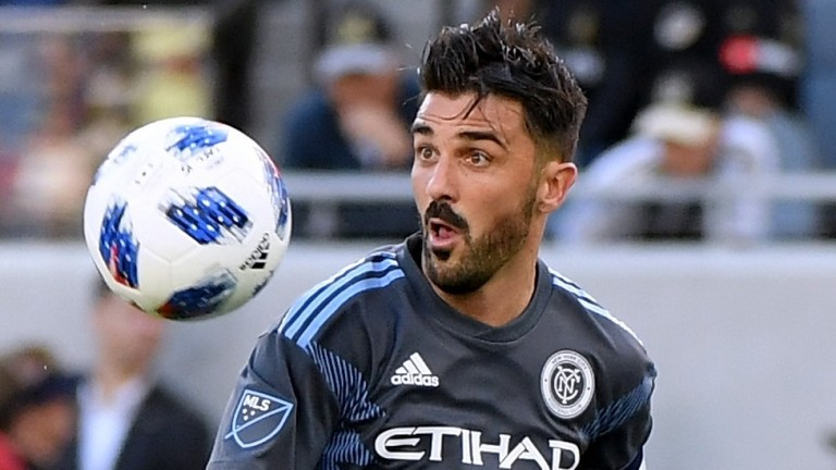 Striker David Villa could return from injury for New York City