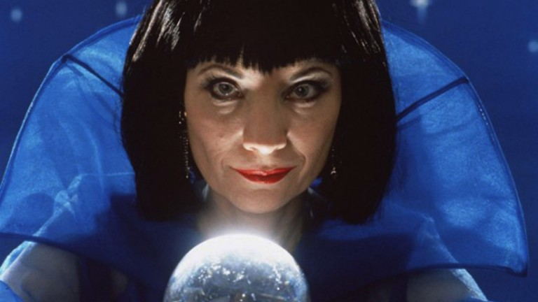 Birthday greetings to Margaret Lake, aka Mystic Meg