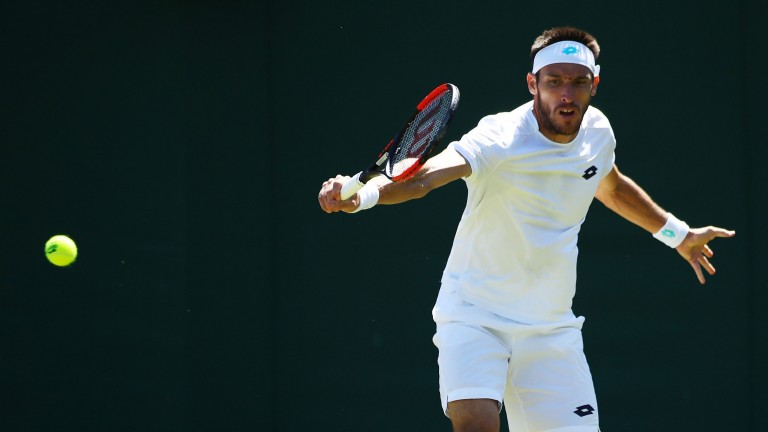 Leonardo Mayer at Wimbledon