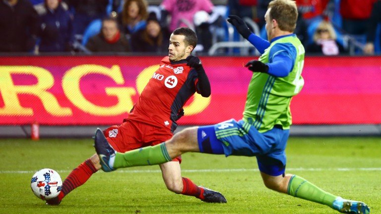 Toronto's Sebastian Giovinco should be a goal threat