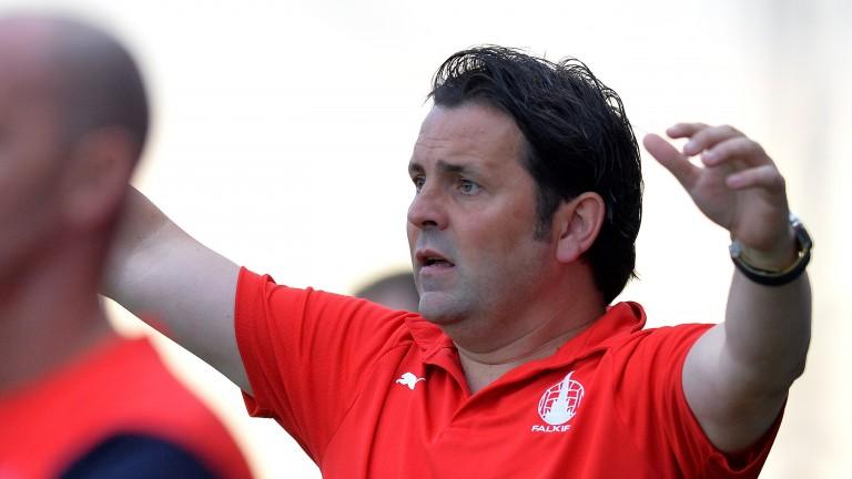 Falkirk manager Paul Hartley