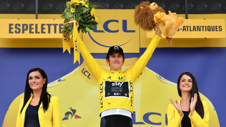 Geraint Thomas is 11-4 to regain his crown next year