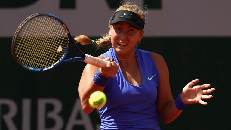 Anastasia Potapova is a rising star