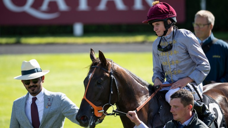 Sheikh Joaan leads in Watan after the juvenile's victory at Goodwood this week