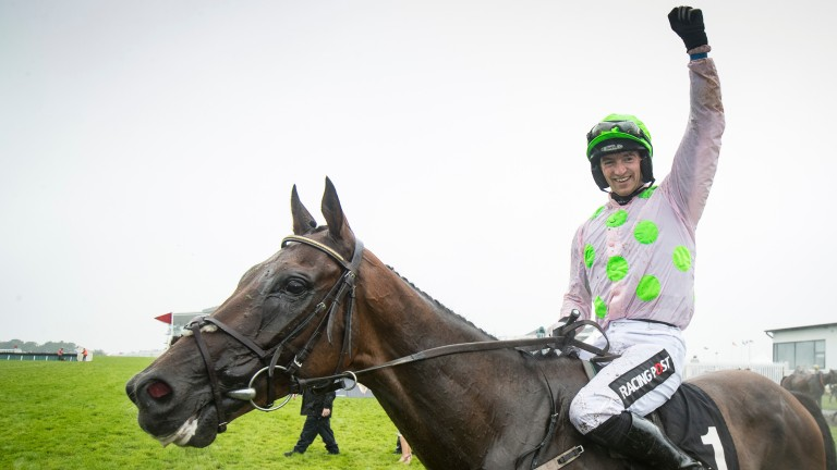 Sharjah: the highest-rated hurdler in the Anglo-Irish jumps classifications for 2019-20