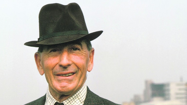 Ryan Price: champion trainer of jumpers five times between 1955 and 1967