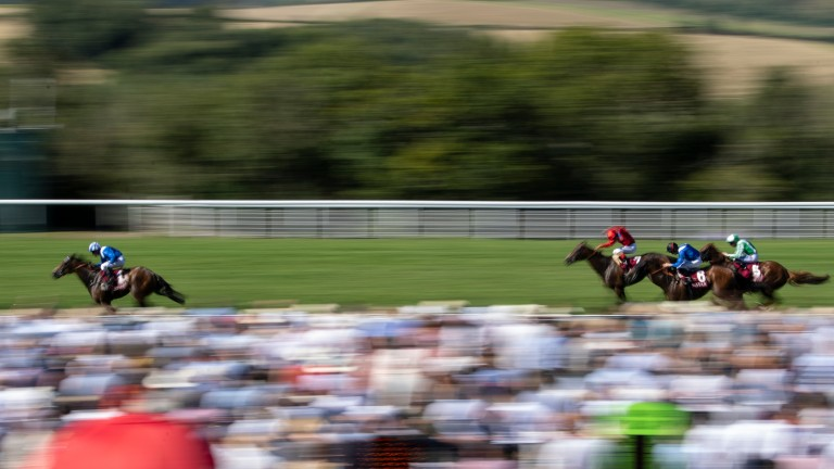 Battaash powers clear in thrilling style in the King George Stakes at Goodwood