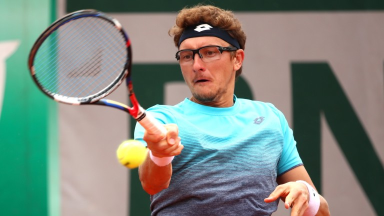 Denis Istomin has looked driven in Austria this week