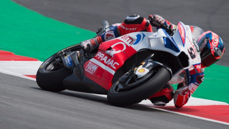 Danilo Petrucci has been consistently competitive in Moto GP qualifying this season