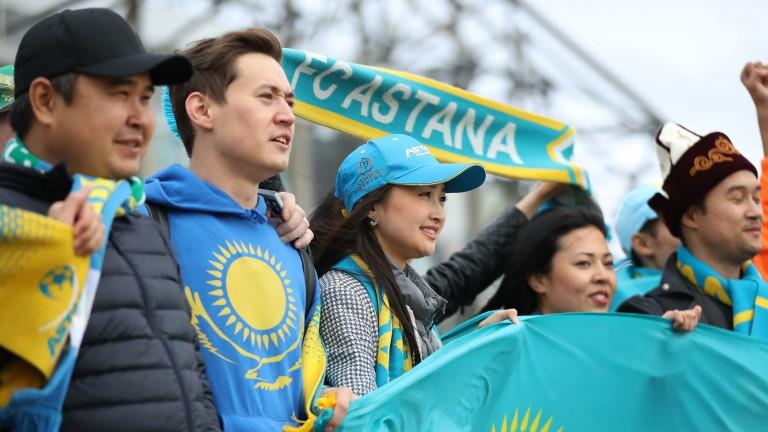 Fans of Astana