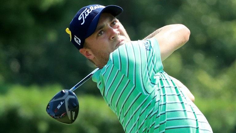 Justin Thomas at the World Golf Championships-Bridgestone Invitational
