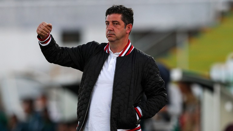 SL Benfica head coach Rui Vitoria