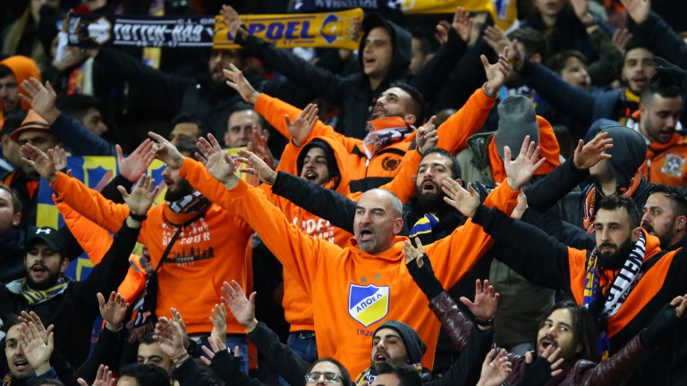 Apoel Nicosia fans have enjoyed some memorable European nights recently