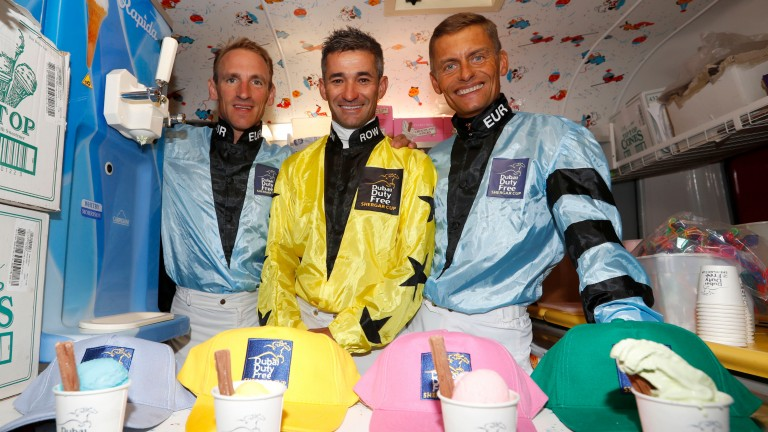 Per Anders-Graberg (right) will make his Shergar Cup debut