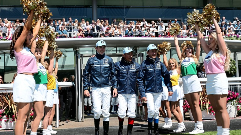 The Shergar Cup takes centre stage on a busy day's racing
