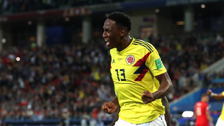 Colombian centre-back Yerry Mina has signed for Everton