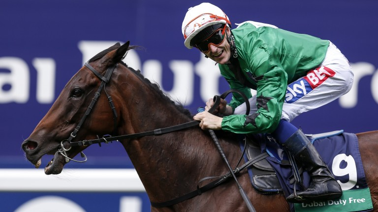 Fran Berry: Bidding to retain the silver saddle on Shergar Cup day