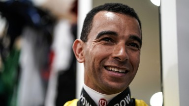 Joao Moreira: the only rider engaged in all ten races on Sunday