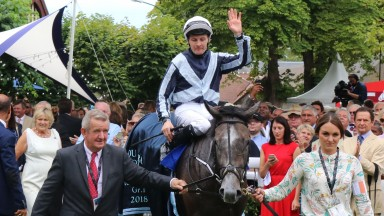 Alpha Centauri: now rated 124 after her commanding win in the Prix Jacques le Marois