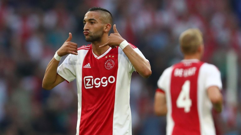 Hakim Ziyech is a key component Ajax's attacking armoury