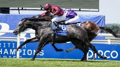 Oisin Murphy and Roaring Lion get the better of old rival Saxon Warrior in the Coral-Eclipse Stakes at Sandown