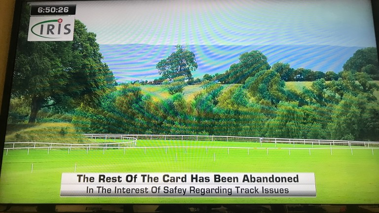 The images on the screens around Ballinrobe following news of the card being abandoned