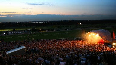 Music nights continue to prove popular at racecourses, but also remain a divisive subject