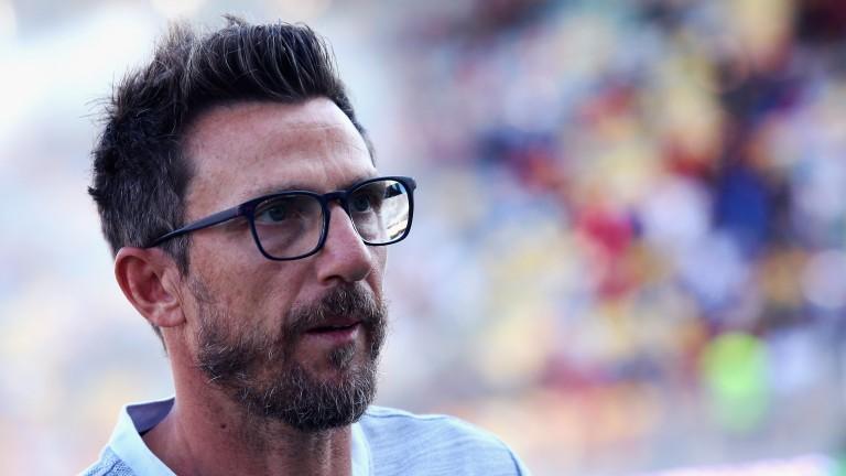Roma head coach Eusebio Di Francesco can see his side start strongly