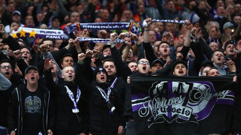 Anderlecht fans make their voices heard