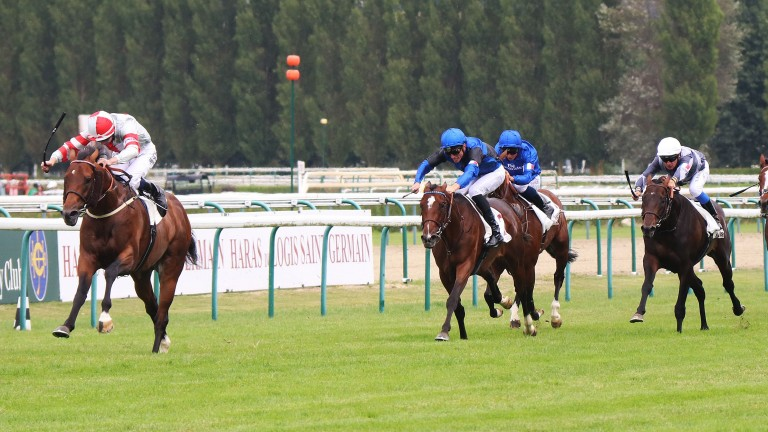 Knight To Behold (Oisin Murphy) impresses in the Prix Guillaume d'Ornano at Deauville