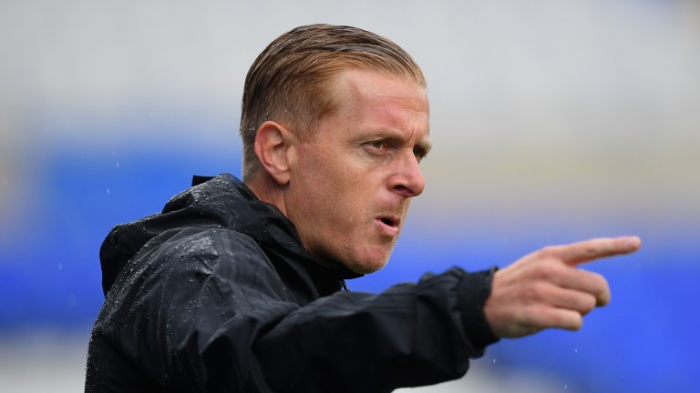 Birmingham manager Garry Monk