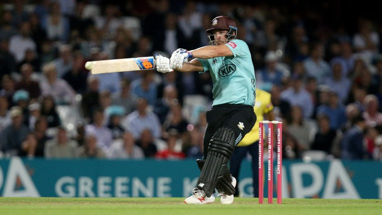 Surrey's Aaron Finch has been a consistent performer at the crease
