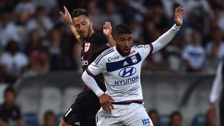 Nabil Fekir (right) can be a crucial contributor for Lyon