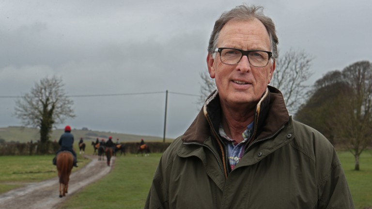 Roger Charlton: trainer of Great Beyond