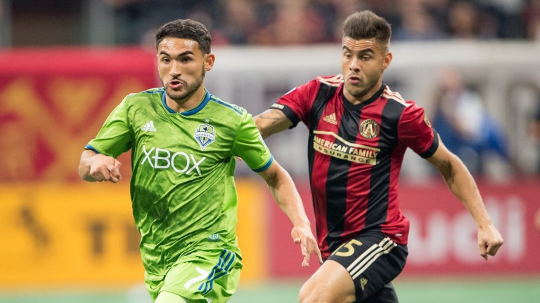 Cristian Roldan (left) can help Seattle in their push for the playoffs