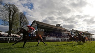 WINDSOR, ENGLAND - APRIL 10:  Oisin Murphy riding Sir Plato easily win The BGC Racing Ownership From £125 Handicap Stakes at Windsor Racecourse on April 10, 2017 in Windsor, England. (Photo by Alan Crowhurst/Getty Images)