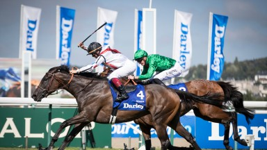 Nonza and Alexis Badel wins the Darley Prix Jean Romanet