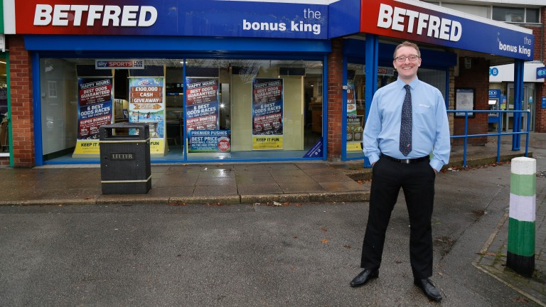 Rob Mabbett: left Betfred to join the Gordon Moody Association