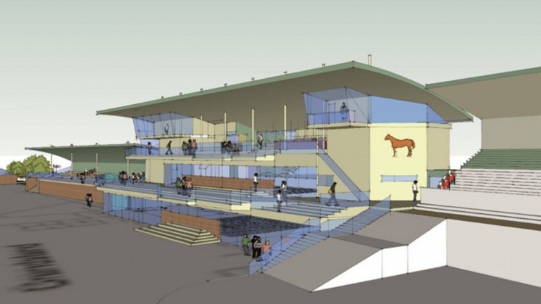The new main grandstand at Beverley is due to be ready for the start of the 2021 Flat season