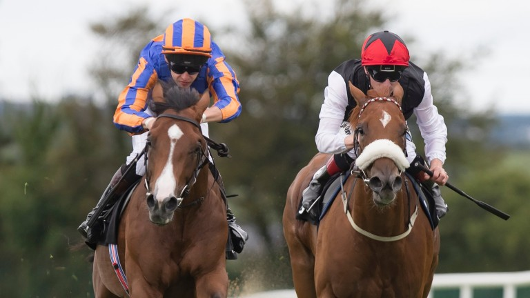 Broome (left) broke his maiden at Galway earlier this month