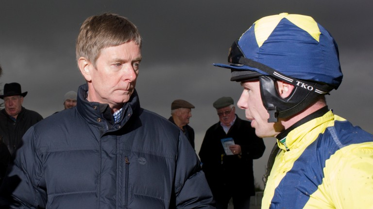 Barry Connell and Denis O'Regan enjoyed Cheltenham Festival success together with Tully East