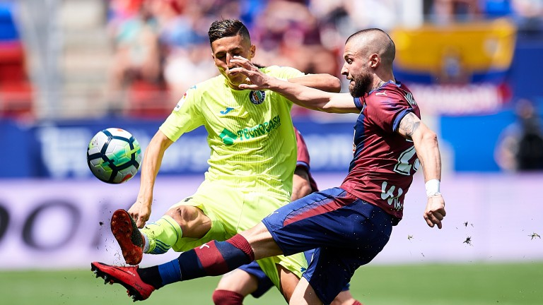 Getafe were 1-0 winners on their last meeting with Eibar in April